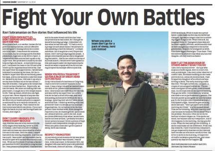 Economic Times - 7th November 2014